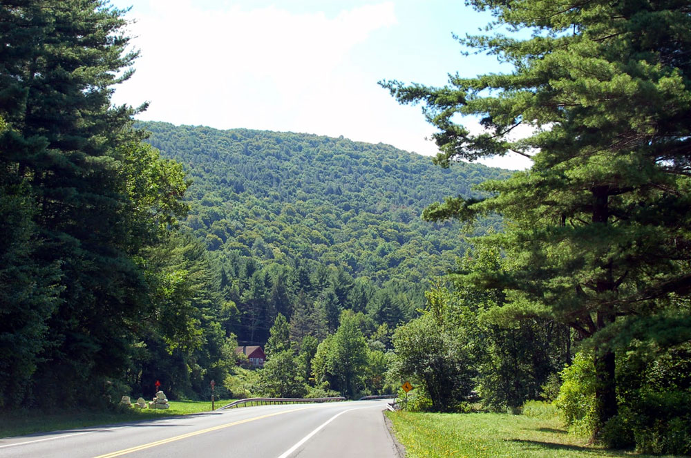 Catskill Mountain Roads