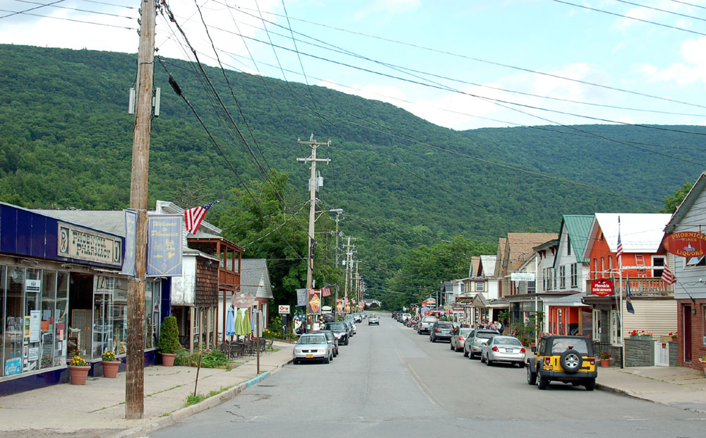 Catskill Mountains Real Estate in Phoenicia main street